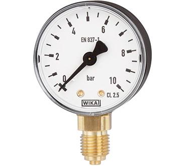 Model 111.10 Bourdon tube pressure gauge
