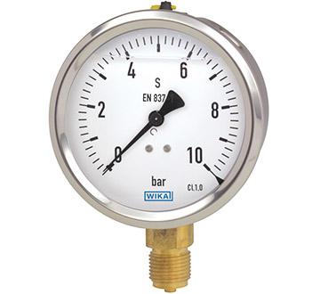 Model 213.53 Bourdon tube pressure gauge