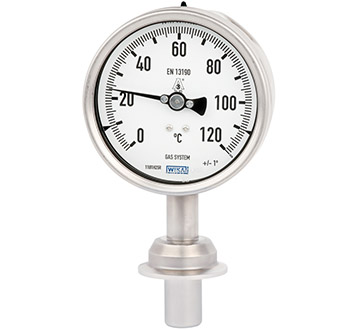 Model 74 Gas-actuated thermometer