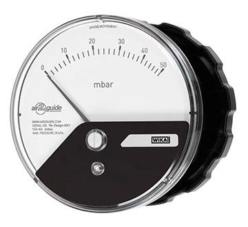 Model A2G-10 Differential pressure gauge