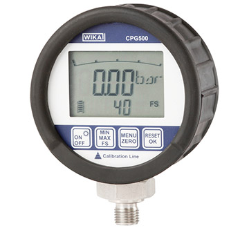 Model CPG500 Digital pressure gauge