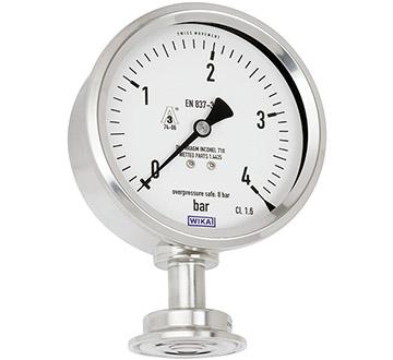 Model PG43SA-S Flush diaphragm pressure gauge